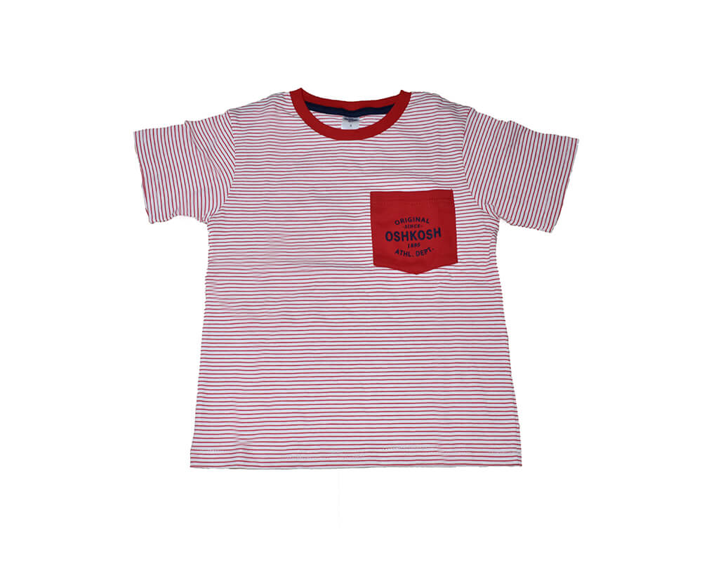 OshKosh Boy Toddler Polo Tee – Red